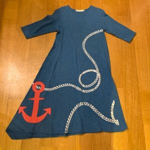 Teela Blue Girls Dress Size 14